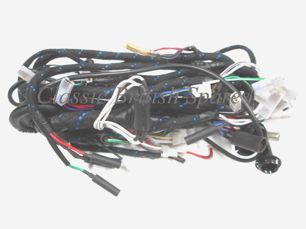Triumph T140 Tr7 Lucas Wiring Harness 54962258 54961593 19 19662 Color Wire Diagrams