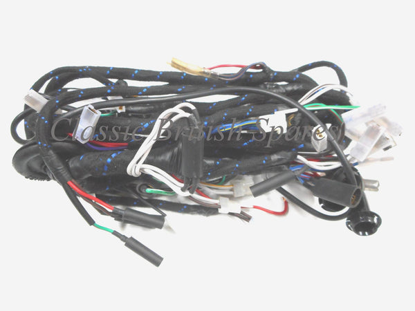 triumph t140 tr7 lucas wiring harness 54962258 54961593 19 19662 classic spares