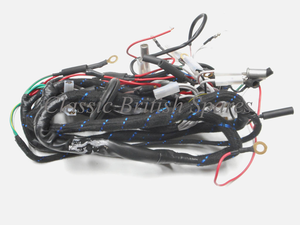 triumph t100 / t120 genuine lucas wiring harness ... honda motorcycle wiring harness