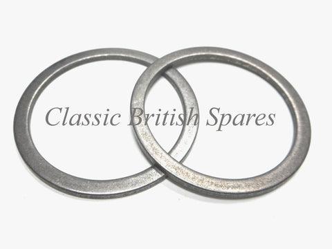 "Triumph BSA Front Fork Oil Seal Internal Retaining Washers ""2"" 97-0431 T120 A65"