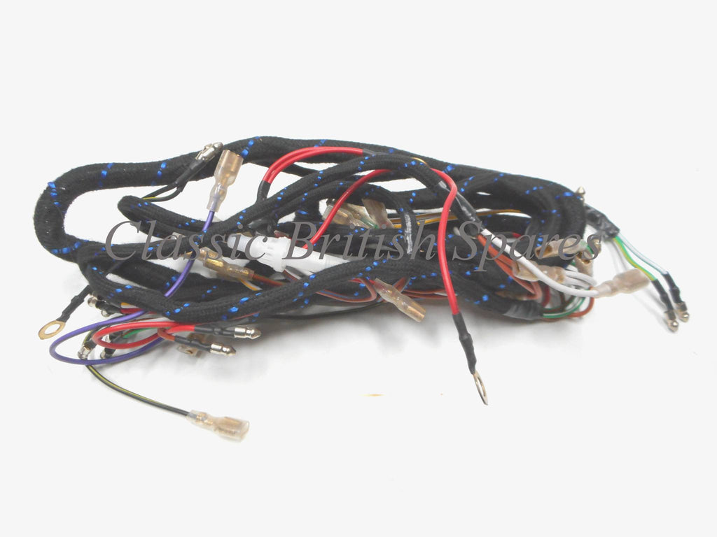 Triumph Bsa Twins Cloth Main Wiring Harness 54960710 1971 72 For Motorcycle