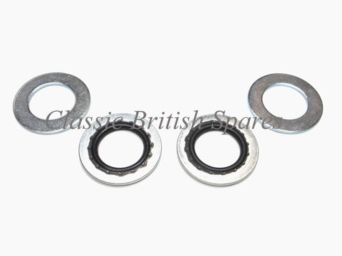 Triumph Petcock Valve Dowty Sealing Washer Set 70-7351 83-0002 Norton BSA