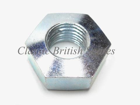 Triumph / BSA Foot Rest Left Hand Thread Nut (1) - 82-9050 - A65 / B25 / B44 / TR25W / C25