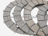 Triumph / BSA Twins Friction Drive Clutch Plates (6) - 57-4763 - 500 / 650 / 750 - (Alloy)