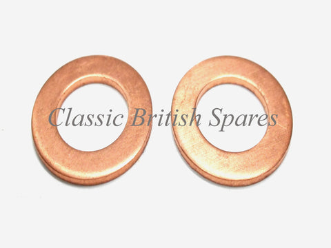"Triumph Primary Cover Acorn Nut Copper Washer Set ""2"" 82-1880 1963-82 T120 T140"