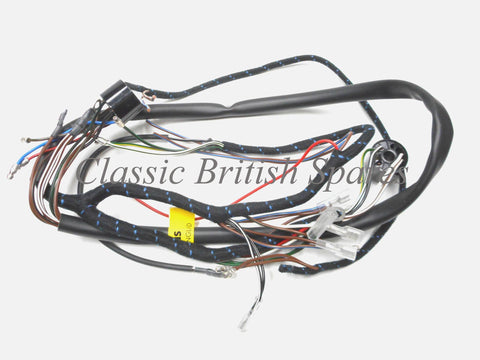 Early lucas c15 b40 cloth wiring harness 5494066 bsa early distributor c15 b40 lucas cloth bound wiring harness 54940666 1959 63 asfbconference2016 Gallery