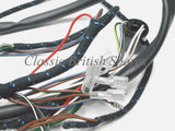 BSA Early Distributor C15 B40 Lucas Cloth Bound Wiring Harness 54940666 1959-63