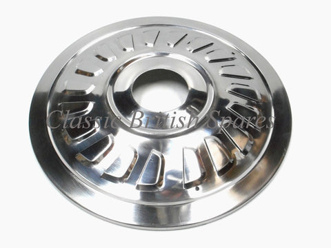 "BSA A75 Rocket III TLS 8"" Stainless Steel Wheel Hub Cap Cover 37-2240 1969-70"