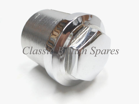 Triumph BSA Steering Stem Chrome Sleeved Nut 97-2651 1958-70