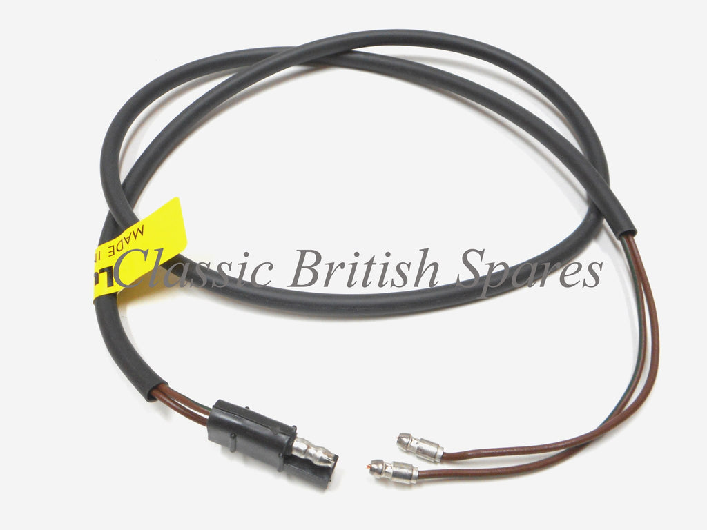 1966 Triumph Lucas Wiring Harness 54938941 Diagram T90 Tail Light W Molded End 37 838604 T100 T120