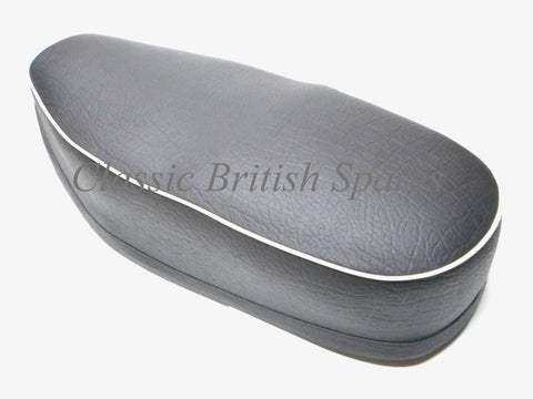 BSA C15 / B40 Complete Black Smooth Top Dual Seat 40-9060 1958-66