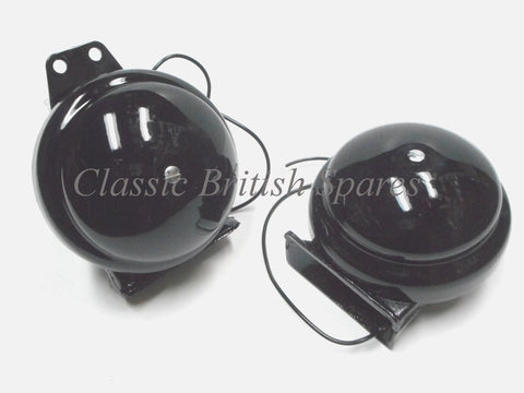 Clear Hooter Horns 1970 Type 60-2256 60-2257
