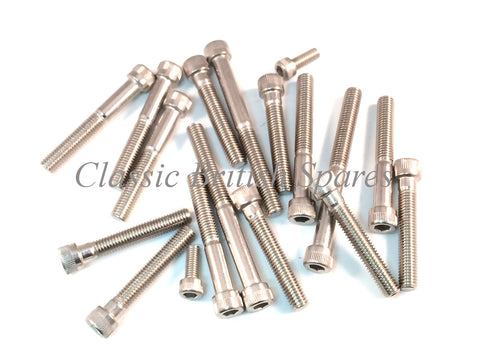 Allen Head Engine Screw Sets - Choose Application