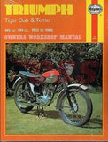 Triumph Cub Haynes Manual 1952-1968