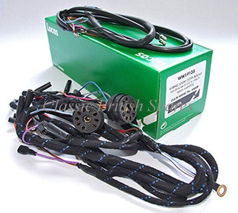 Lucas Clothbond Wiring Harness For BSA Bantam D10