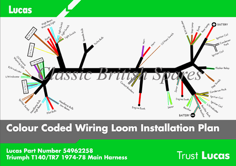 T140_1973 1978_480x480?v=1489730178 triumph t140 tr7 lucas wiring harness 54962258 54961593 19 19662 triumph t140 wiring diagram at eliteediting.co