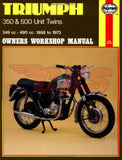 1957-1974 Triumph 350 / 500 Haynes Manual