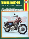 1963-1983 Triumph 650 / 750 Haynes Manual