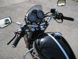 "Triumph Bonneville With Chrome Norman Hyd ""M"" Handlebars"