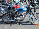 Triumph T140 Chrome Norton Peashooter Mufflers