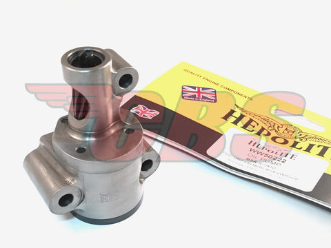 BSA A7 / A10 High Delivery Oil Pump By Hepolite (WW50222)