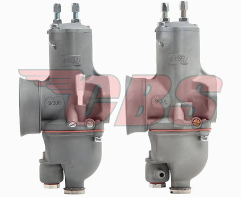 Wassell Evolution Twin Carburetors