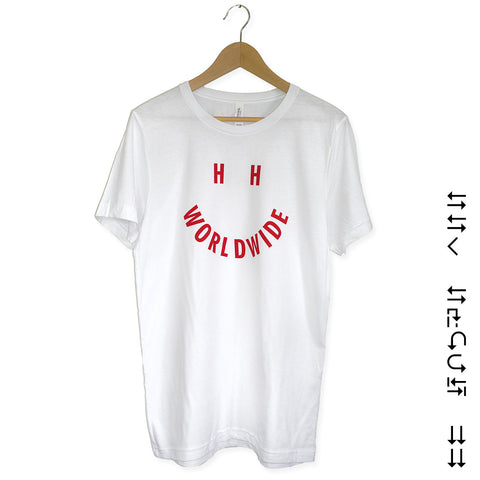 HH Vibes Tee - Red/White