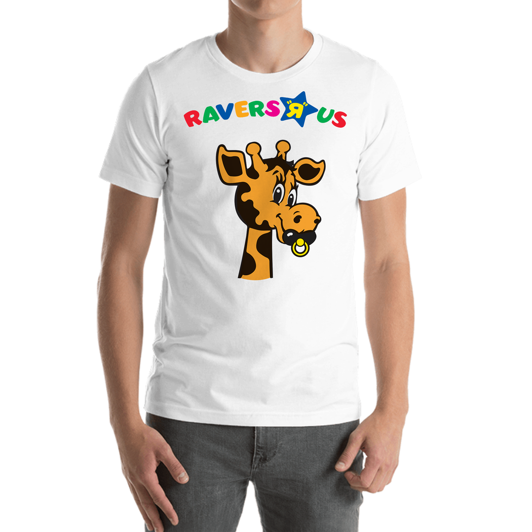 "RAVERS ""R"" US TEE (ADULT, TODDLER & BABY sizes)"
