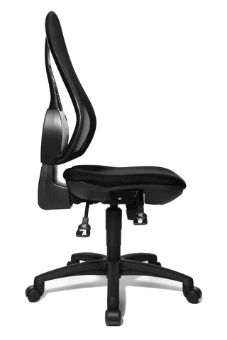 Best selling Open Point SY office chair by Topstar, Germany (side view)