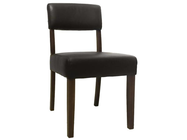 TORO DINING CHAIR GOLF DARK BROWN WALNUT