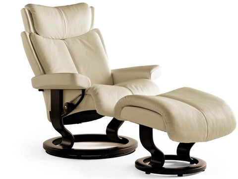 STRESSLESS MAGIC M SET PALOMA SAND WENGE