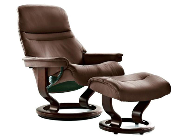STRESSLESS SUNRISE M SET BATICK BROWN BROWN