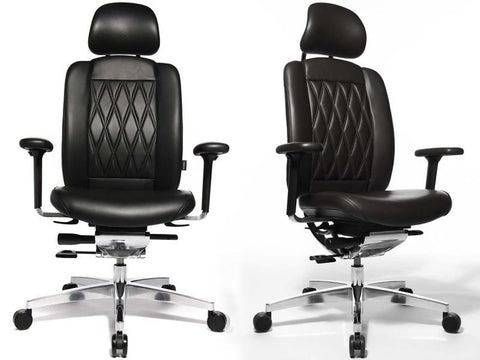 ALUMEDIC LIMITED S HEADREST LEATHER BLACK