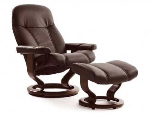 STRESSLESS CONSUL M SET BATICK BROWN BROWN