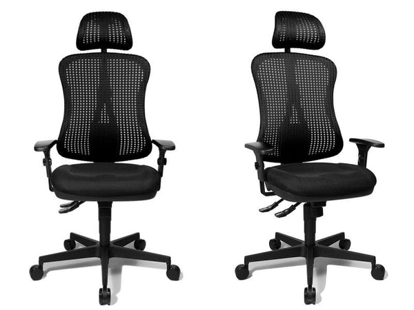 HEAD POINT SY OFFICE CHAIR HEADREST BLACK