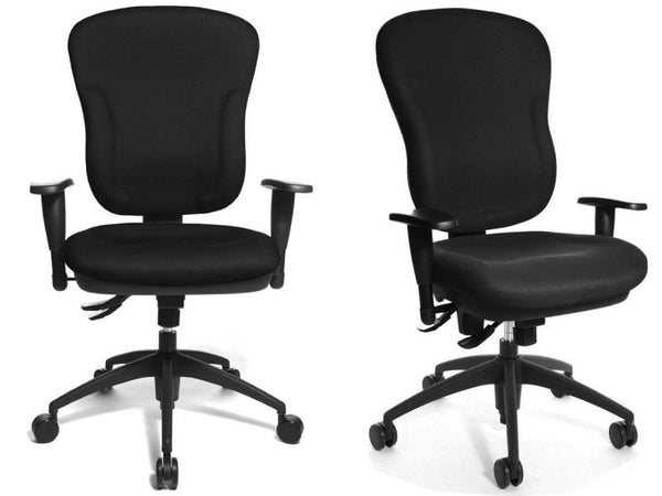 WELLPOINT 30 SY OFFICE CHAIR BLACK