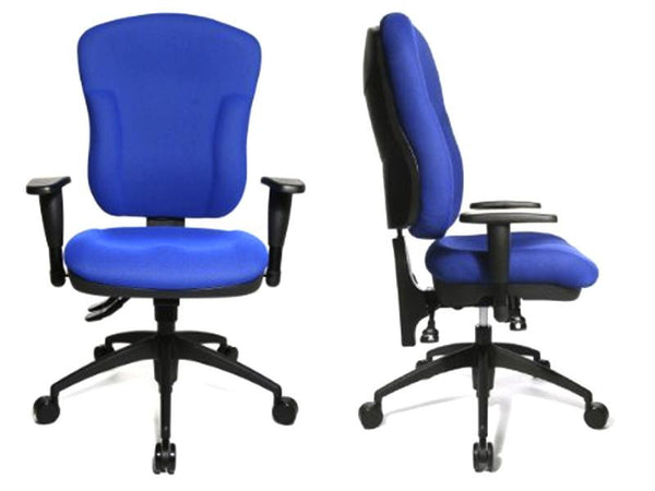 WELLPOINT 30 SY OFFICE CHAIR BLUE