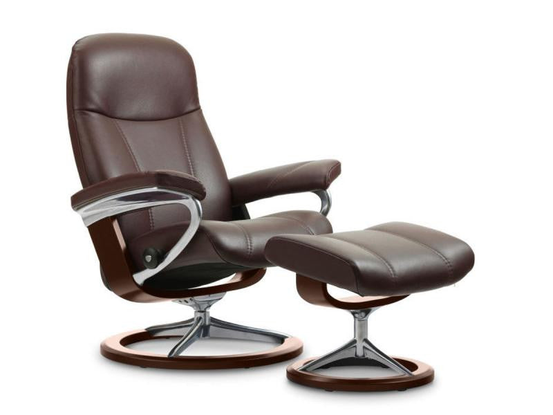 stressless consul m signature set batick brown brown the bear knows singapore. Black Bedroom Furniture Sets. Home Design Ideas