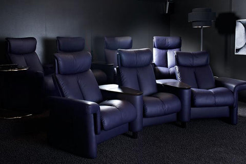 STRESSLESS HOME CINEMA LEGEND (M) SC-111 HIGH BACK PALOMA