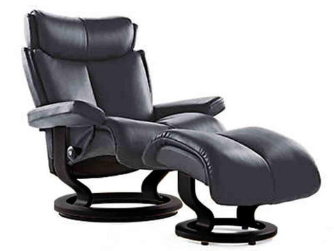 STRESSLESS MAGIC L CLASSIC SET PALOMA ROCK WENGE