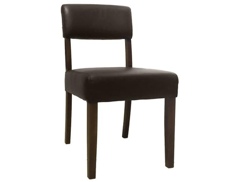 TORO DINING CHAIR GOLF BROWN WALNUT