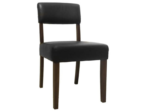 TORO DINING CHAIR GOLF BLACK WALNUT