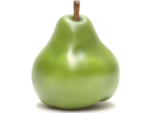 PEAR GREEN SCULPTURE