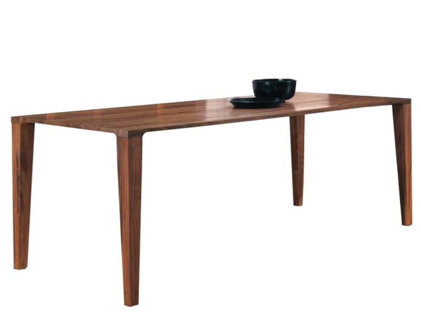 TABLE CAPRI 200X90 H 75 WALNUT