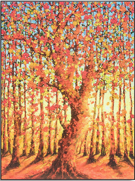 Autumn Tree 120cm x 160cm (H)