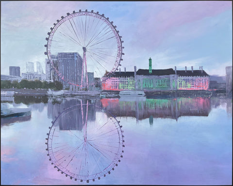 London Eye 150cm x 120cm (H)