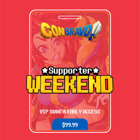 ConBravo! 2017 Supporter Pass
