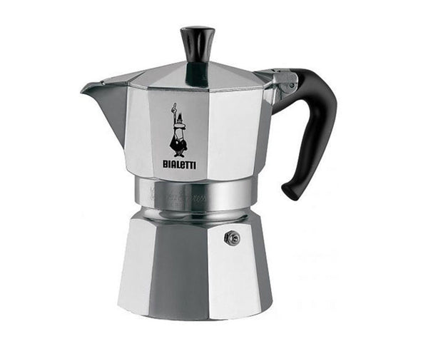 Bialetti Moka Stovetop Coffee Makers - 1 cup - Made in Italy
