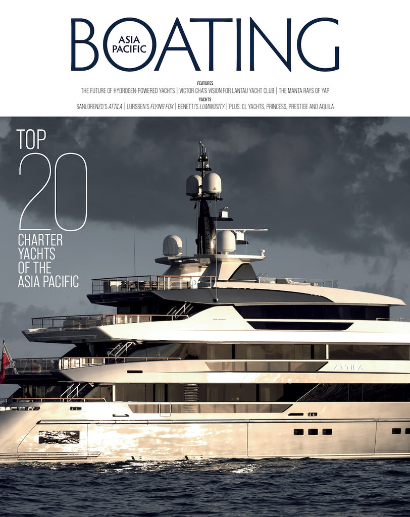 Re-launch of Asia Pacific Boating Magazine
