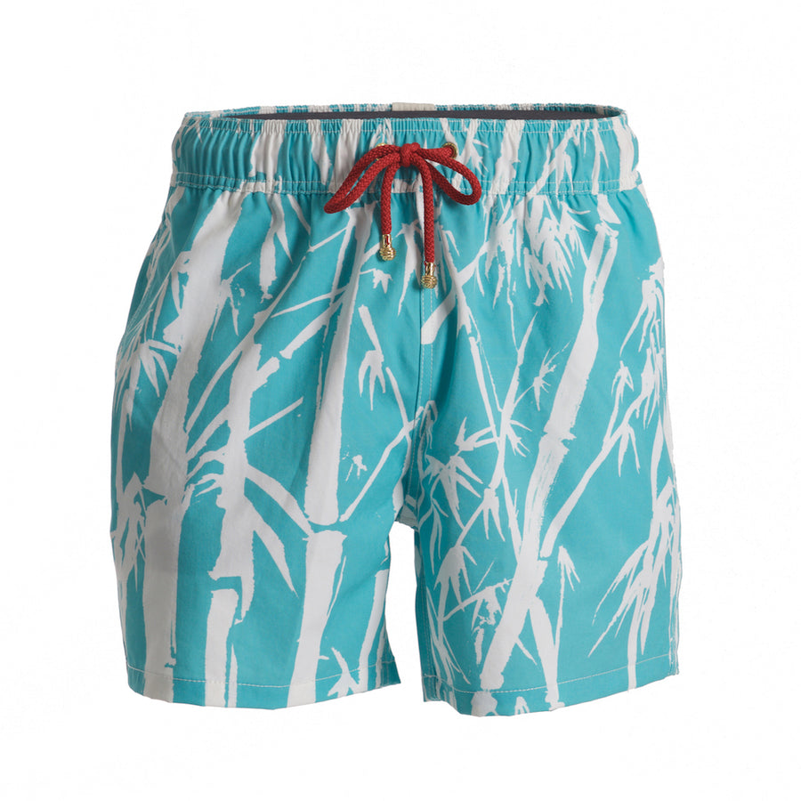 Mazu Resortwear Classic Swim Shorts | Bamboo Fresh Water | Bamboo Design